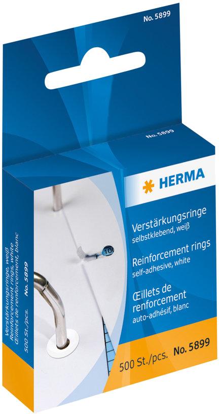 Herma 5899 Verstevigingsringen wit