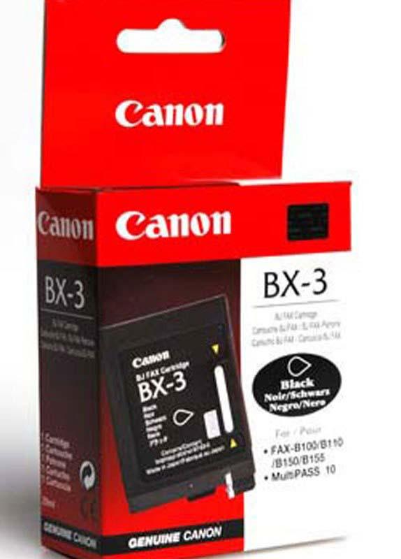 Canon BX-3 zwart