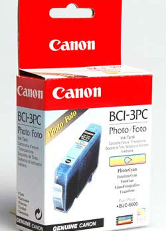 Canon BCI-3ePC foto cyaan