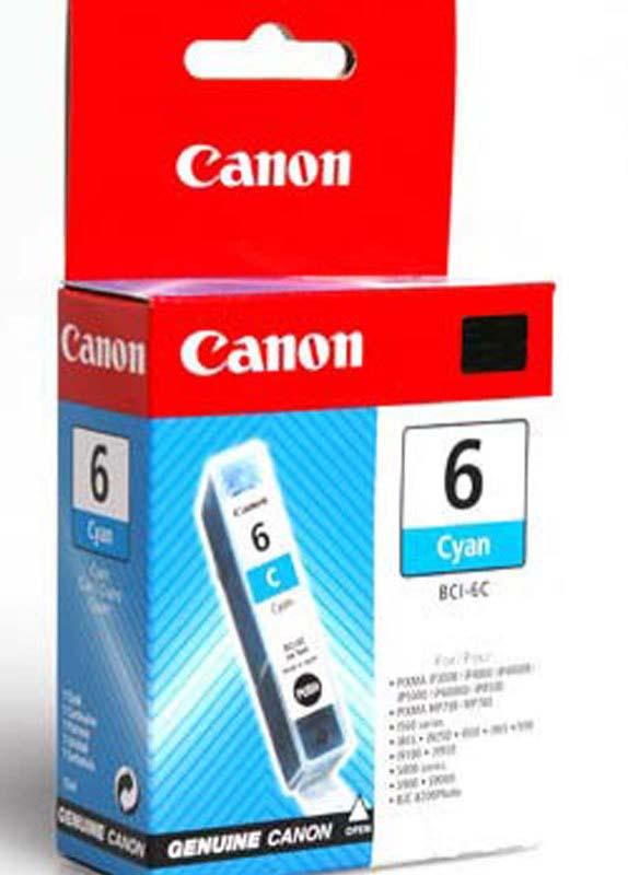 Canon BCI-6C cyaan