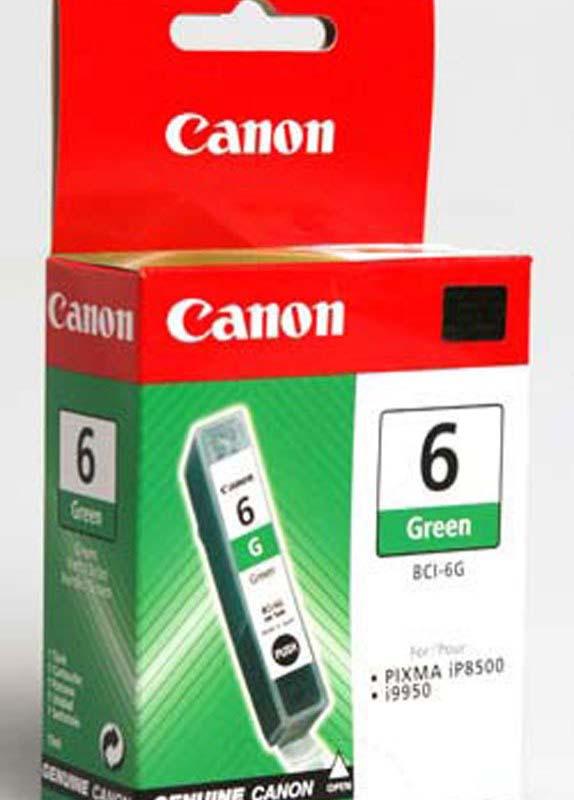 Canon BCI-6G groen