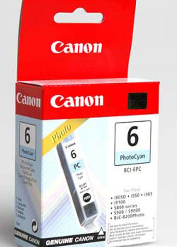 Canon BCI-6PC foto cyaan