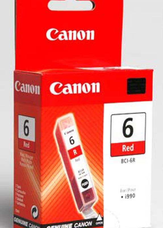 Canon BCI-6R rood
