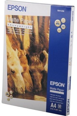 Epson C13S041256 A4 Mat Foto Papier wit