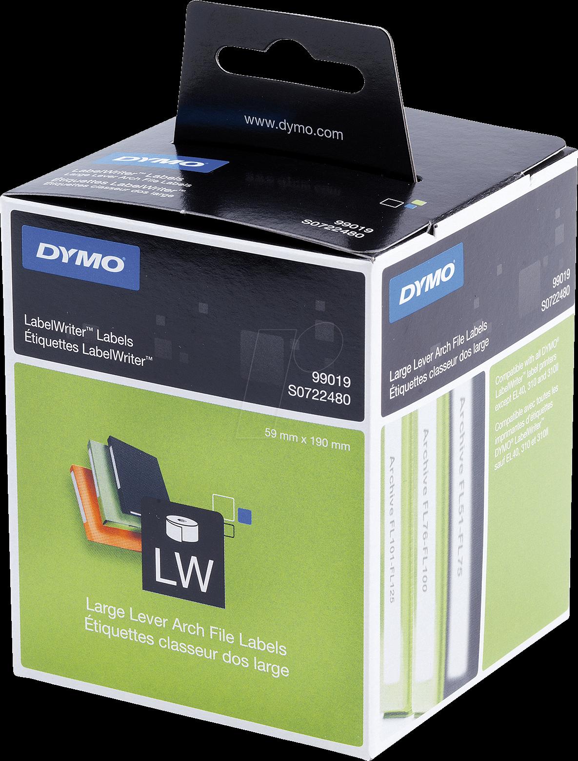 Dymo 99019 wit