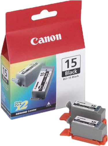 Canon BCI-15BK duo pack zwart