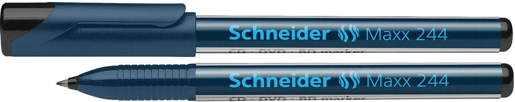 Schneider CD / DVD Marker 10 stuks zwart