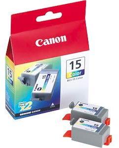 Canon BCI-15C duo pack kleur