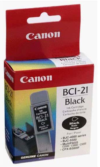 Canon BCI-21BK zwart