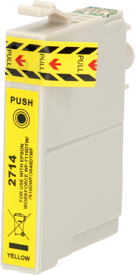 FLWR Epson 27XL T2714 geel