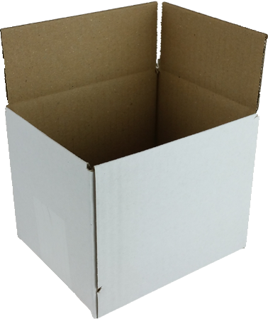 Huismerk White label  Postdozen 15 cm 12 cm 12 cm 30 stuks grijs
