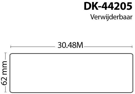 FLWR Brother DK-44205 wit
