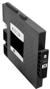 Huismerk Ricoh GC-31BK zwart