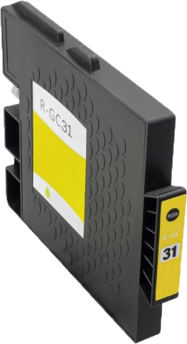 Huismerk Ricoh GC-31Y geel