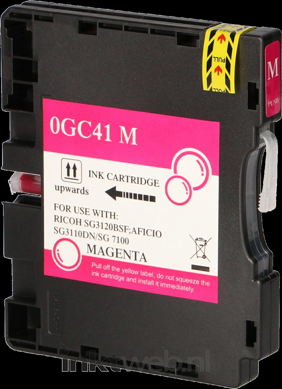 Huismerk Ricoh GC-41M magenta