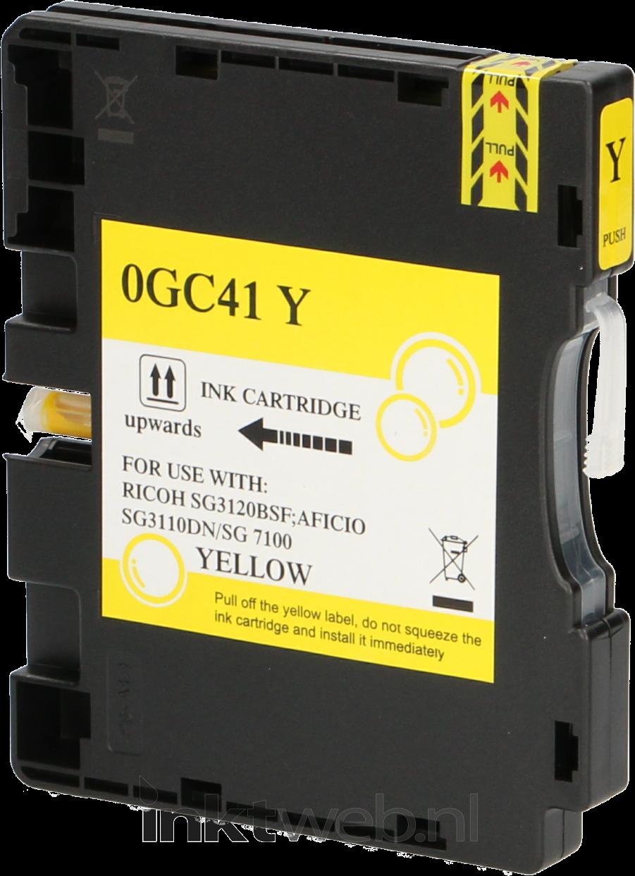 Huismerk Ricoh GC-41Y geel