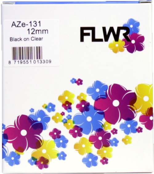 FLWR Brother TZe-131 zwart