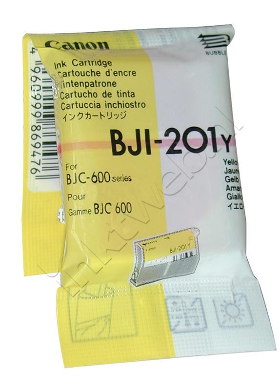 Canon BJI-201Y geel