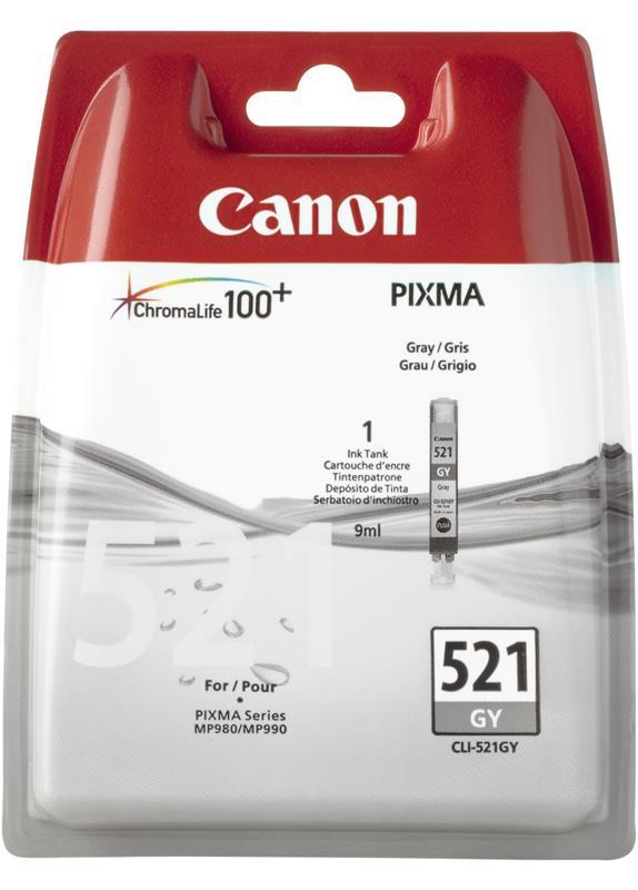 Canon CLI-521GY grijs
