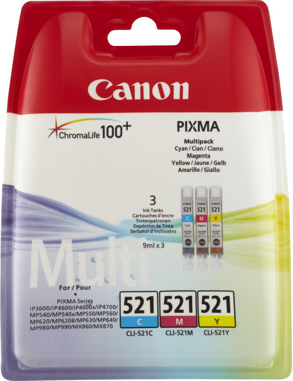 Canon CLI-521 Multipack kleur