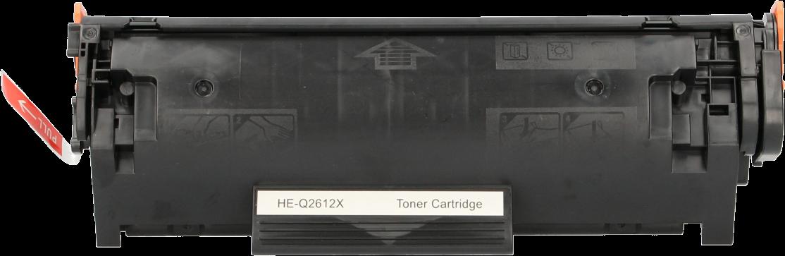 HP 12X zwart