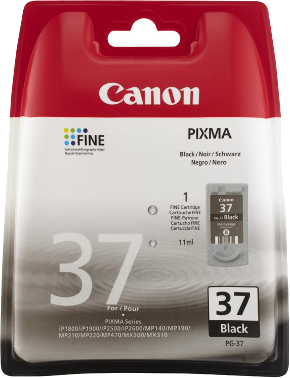 Canon PG-37 zwart