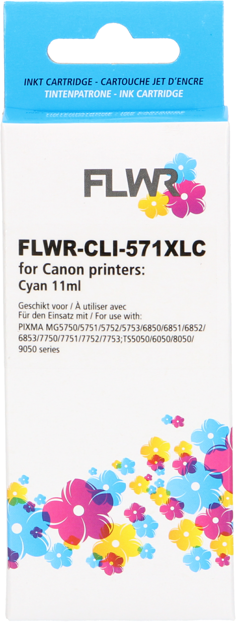Canon CLI-571 XL cyaan