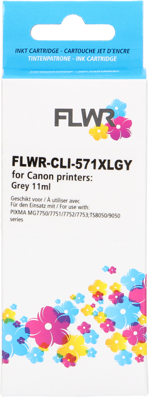 FLWR Canon CLI-571 XL grijs