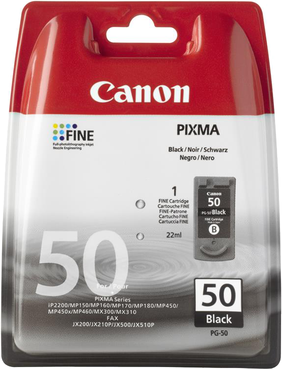 Canon PG-50 hoge capaciteit zwart