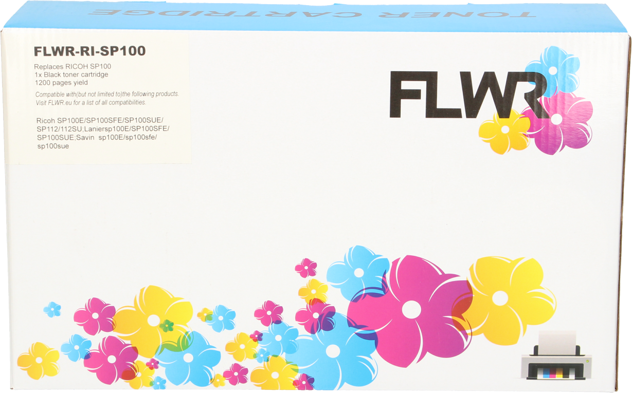 FLWR Ricoh SP-100 zwart