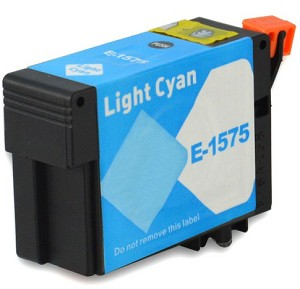 Huismerk Epson T1575 licht cyaan