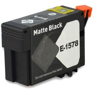 Huismerk Epson T1578 mat zwart
