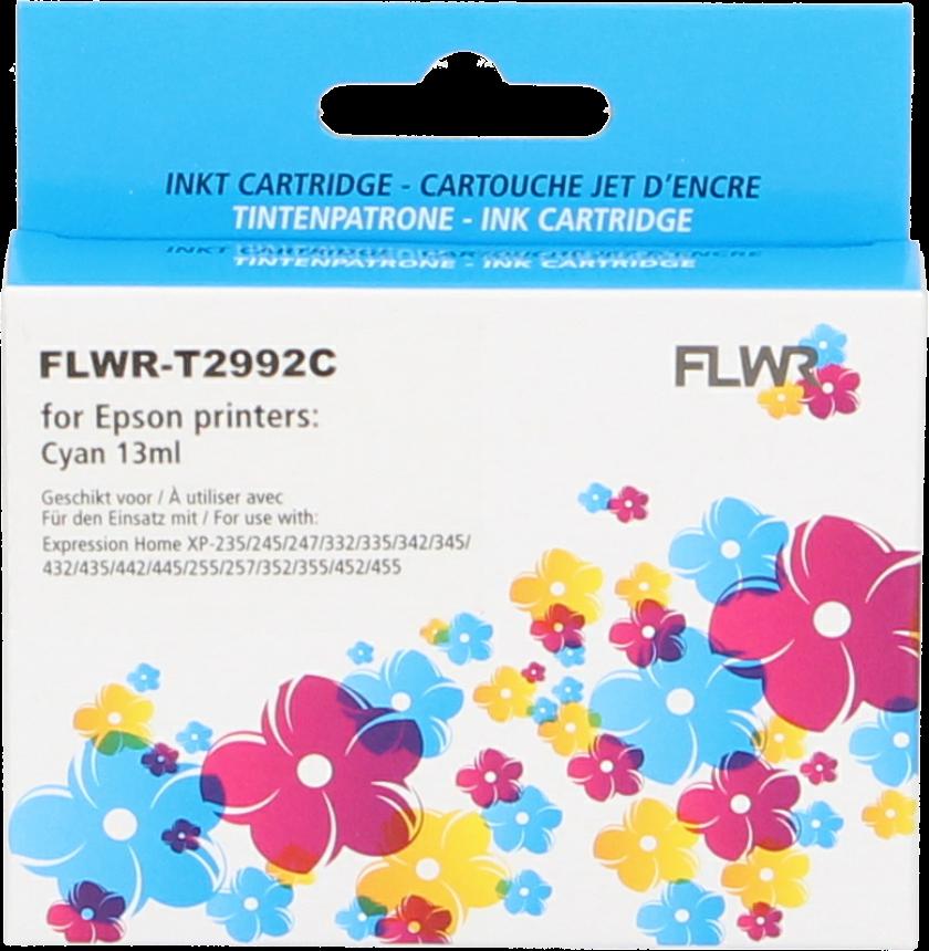 FLWR Epson 29XL T2992 cyaan