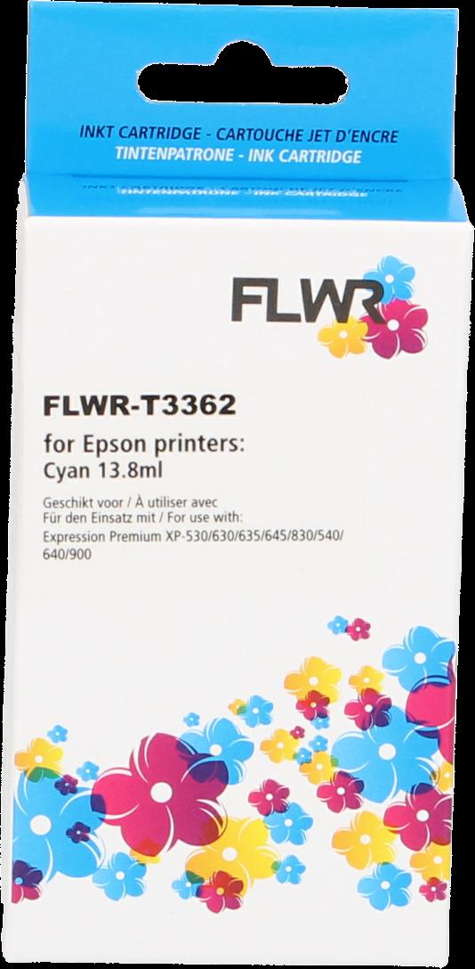 FLWR Epson 33XL (T3362) cyaan