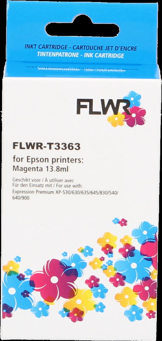 FLWR Epson 33XL (T3363) magenta