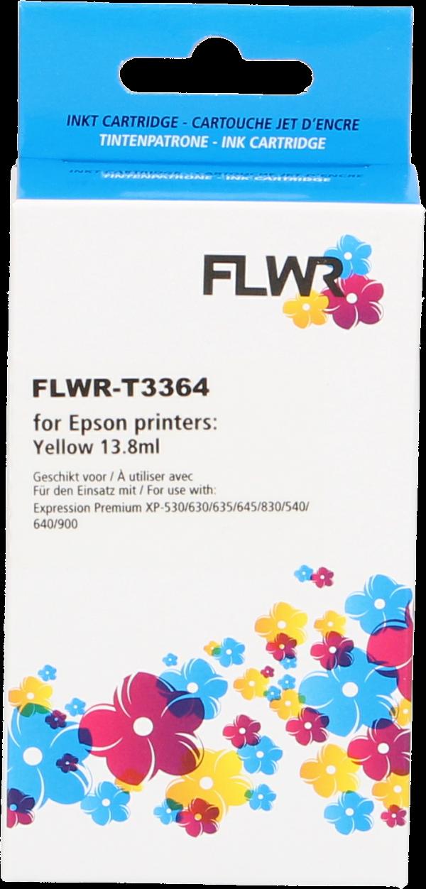 FLWR Epson 33XL (T3364) geel