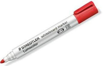 Staedtler Lumocolor whiteboard marker 351 rood
