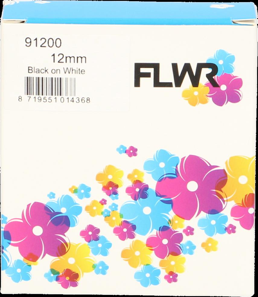 FLWR Dymo 91200 / 91220 zwart