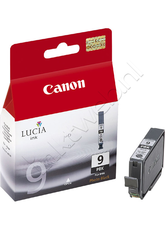 Canon PGI-9PBK foto zwart