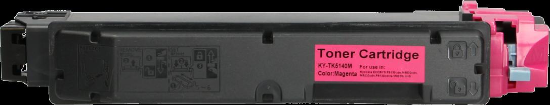 Huismerk Kyocera Mita TK-5140 magenta