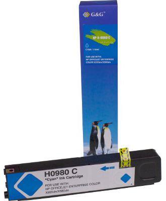 Huismerk HP 980XL cyaan