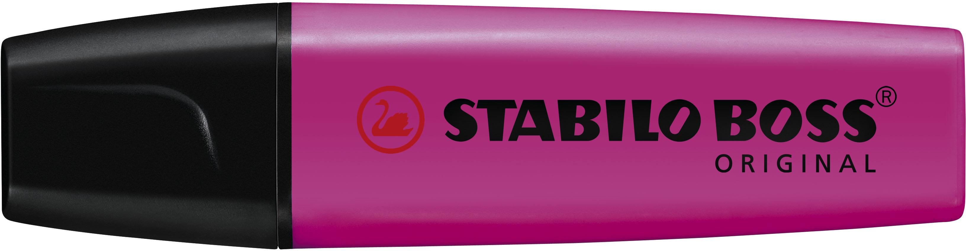Stabilo Markeerstift Boss magenta
