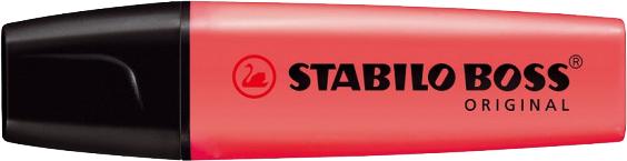 Stabilo Markeerstift Boss rood