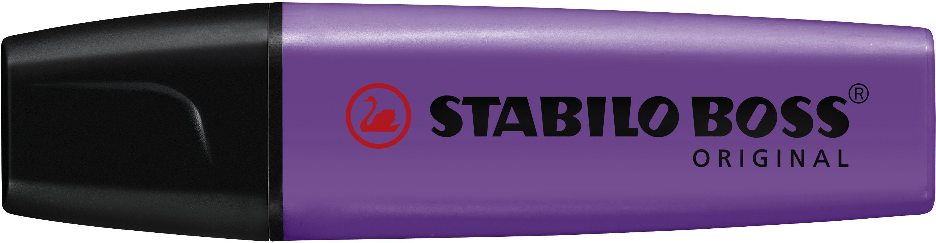 Stabilo Markeerstift BOSS 10-Pack paars
