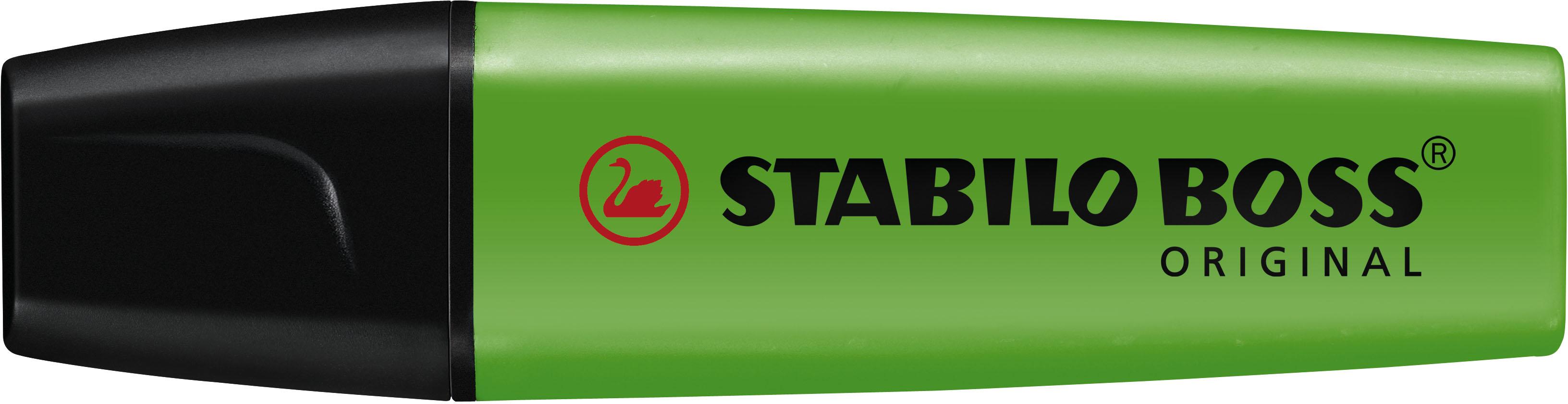Stabilo Markeerstift BOSS 10-Pack groen