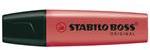 Stabilo Markeerstift BOSS 10-Pack rood