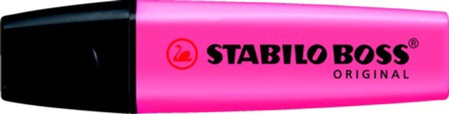 Stabilo Markeerstift BOSS 10-Pack roze