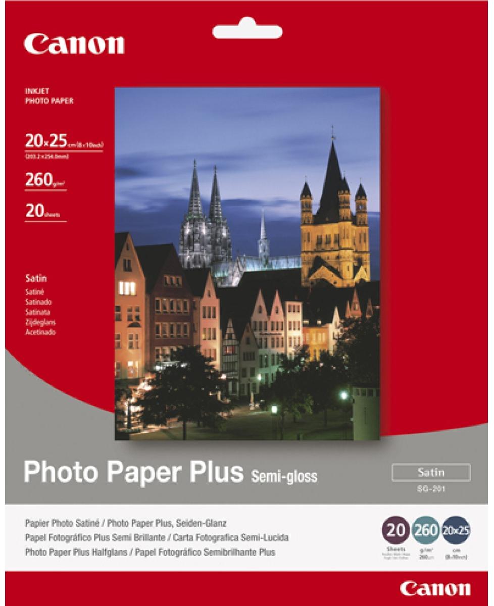 Canon SG201 foto papier plus 20 x 25