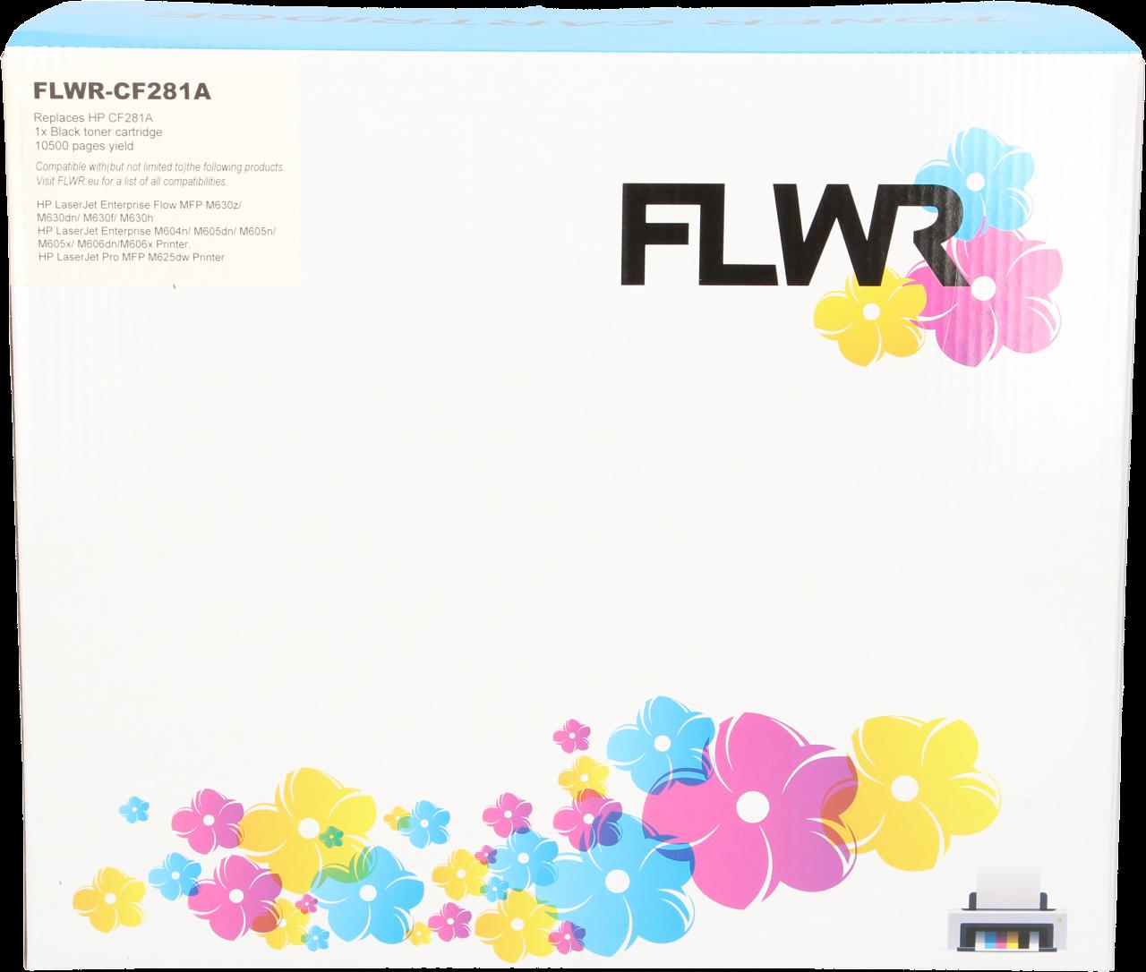 FLWR HP 81A zwart