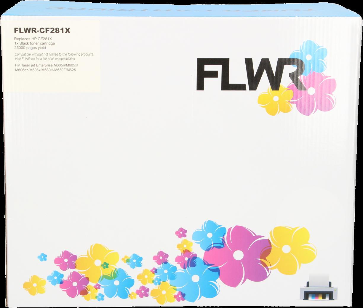 FLWR HP 81X zwart